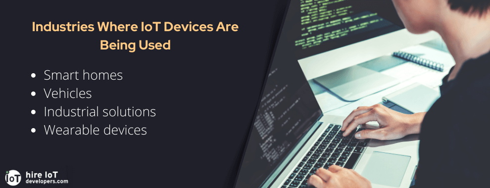 iot devices usage in different industries