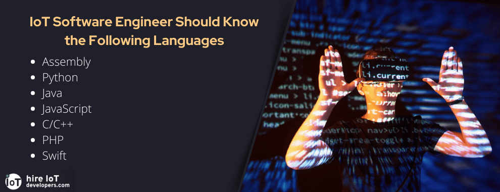 programming languages iot developer should know