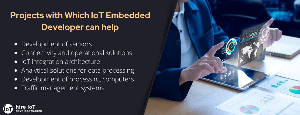 projects embedded iot engineer can work with