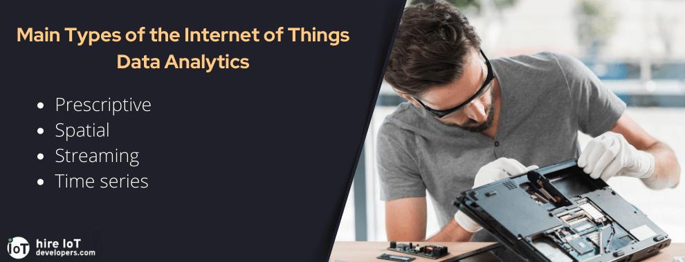 types of iot data analytics